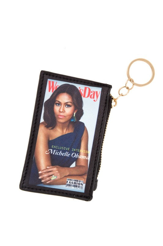 Former First Lady Michelle Obama Coin Bag