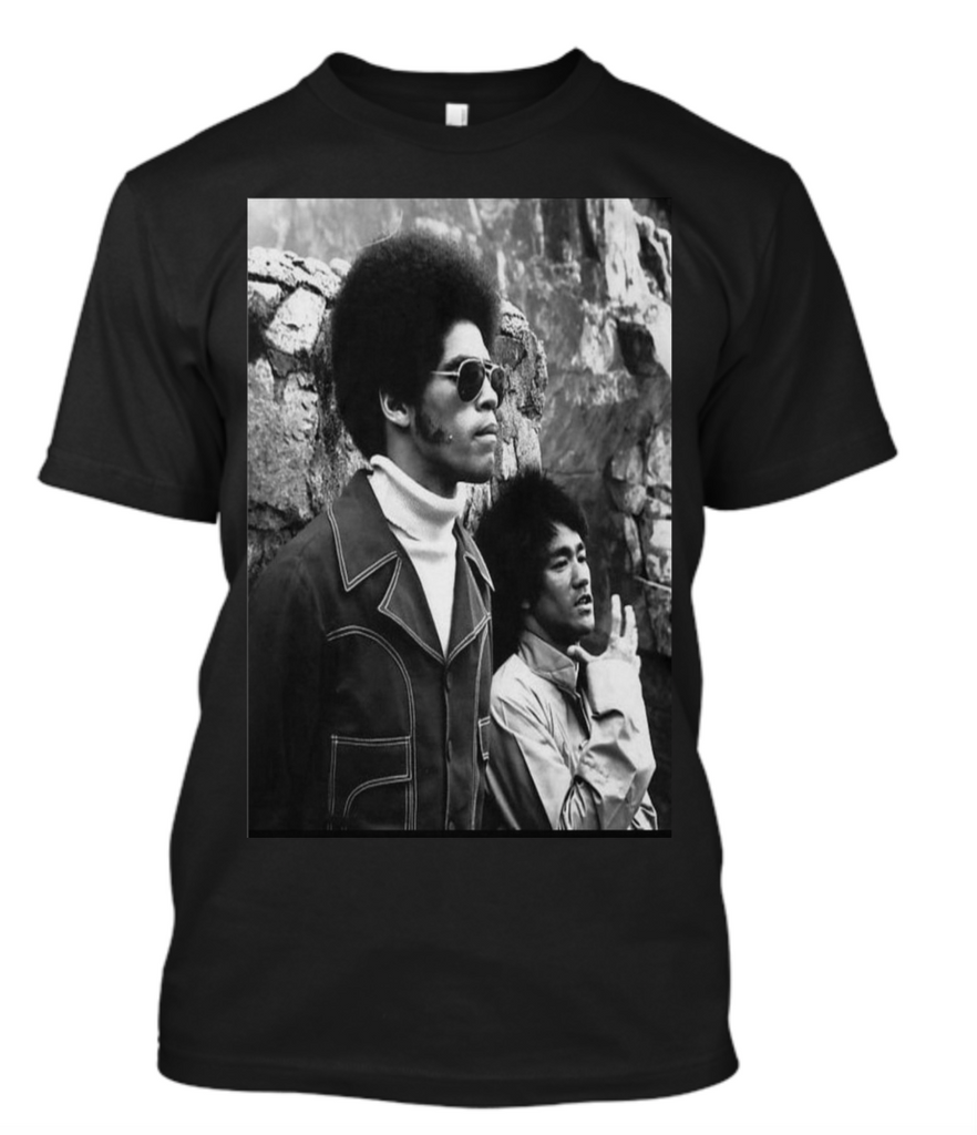 """Be Like Water"" Jim Kelly And Bruce Lee Men's T Shirt"