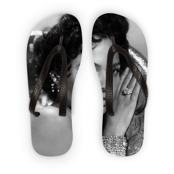 Angel Face Dorothy Dandridge Flip Flops