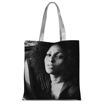 70's Icon Pam Grier Tote Bag