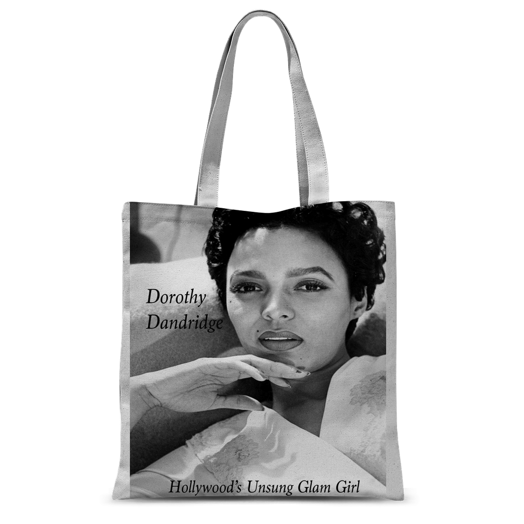 Dorothy Dandridge Hollywood Unsung Tote Bag