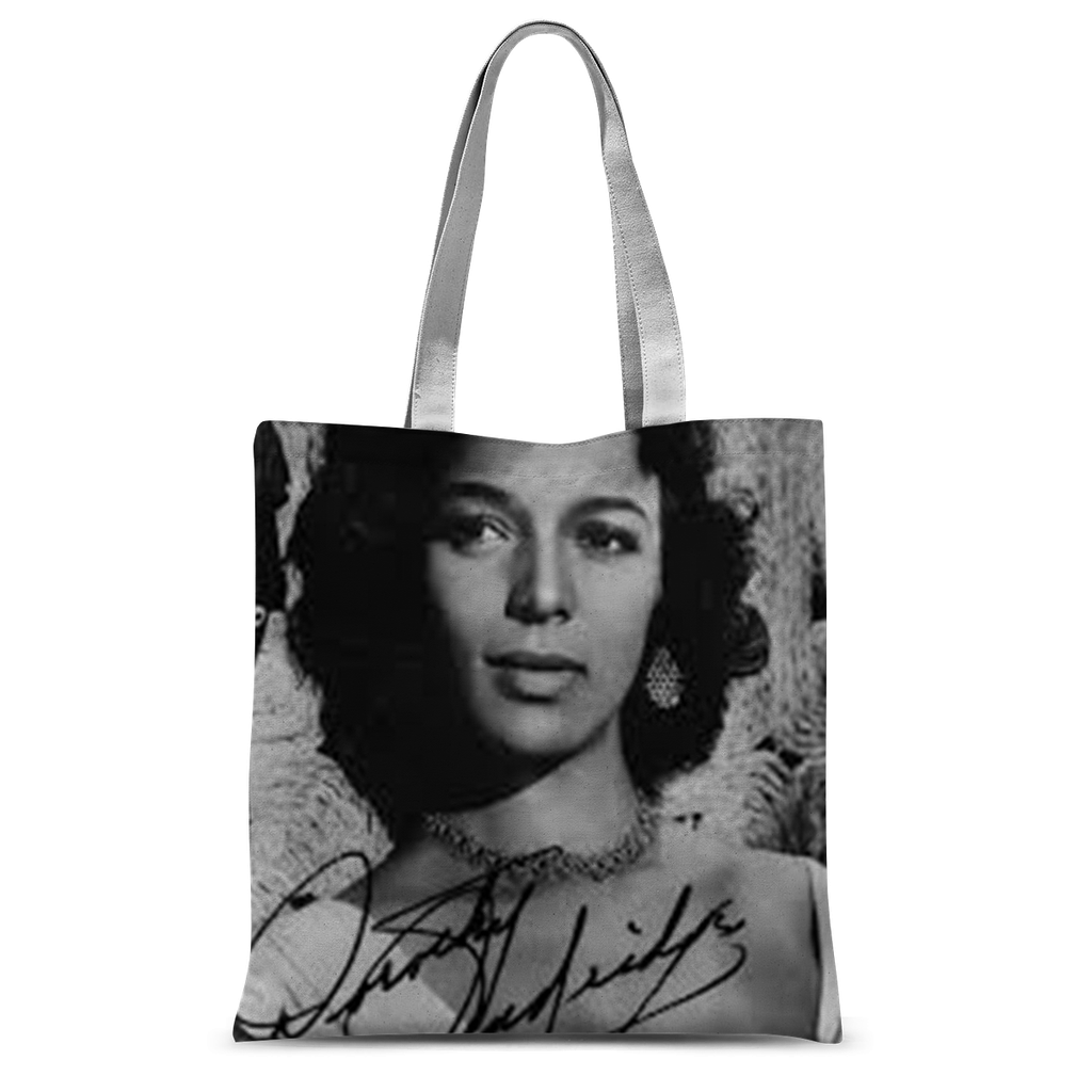 Autographed Dorothy Dandridge Tote Bag