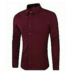 Fashion Men's Shirt - Wine