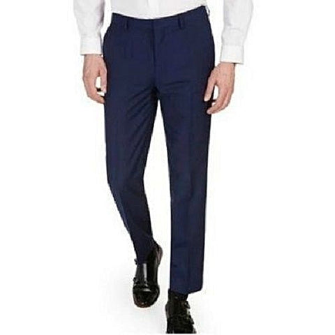 Men's Fashion Pant Trousers - Navy Blue
