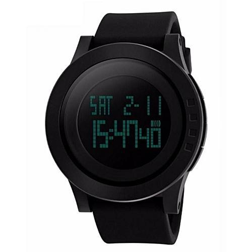 Skmei Digital Multi- Function Watch- Black