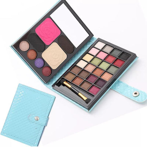 32 colors Makeup Set Eyeshadow Wallet Eyebrow Powder Blush Make Up Kit Cosmetics Maquiagem Profissional Completa