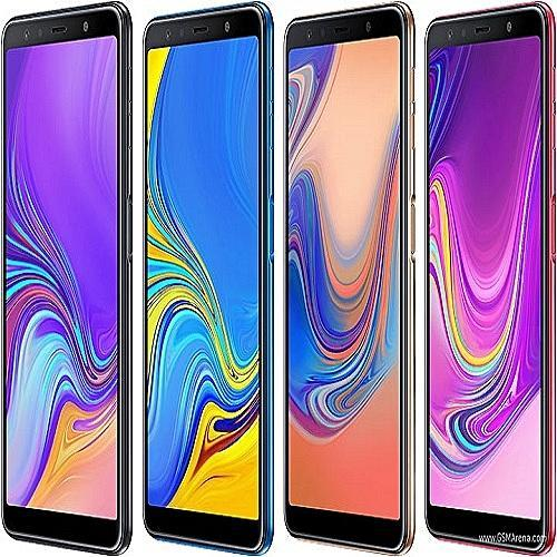 Samsung Samsung Galaxy A7. 4G LTE .( 6.0'', Super AmOLED Infinity Display, Andriod 8.0, Triple Rear Camera (24MP+5MP+8MP), Front Camera 24MP. Storage 4GB RAM & 64GB ROM, MicroSD Up To 256GB, 3300 MAh