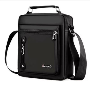 Men'S Bags Handbags Oxford Male Bolsa Men Messenger Shoulder Bags Waterproof Handbags For Travel Multifunction Bags Business Sac - Black