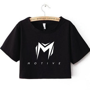 Motive Simple Crop Top For Ladies - Available In Different Colors and Sizes