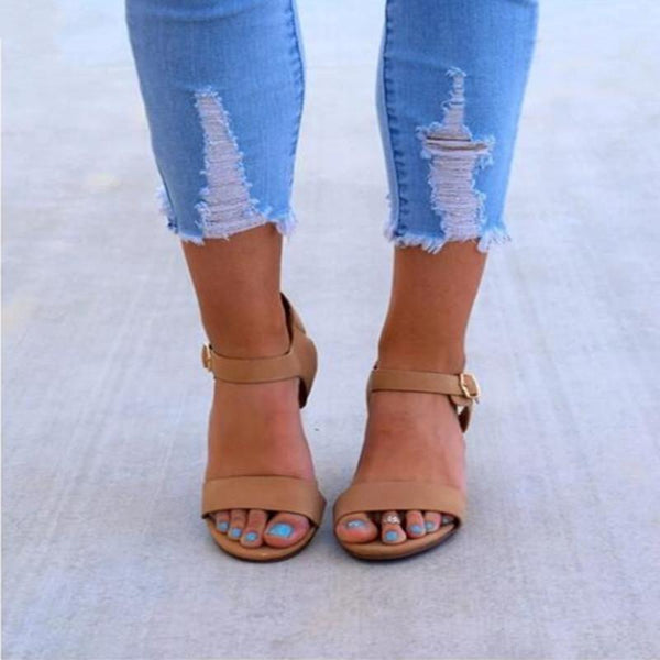 Spring And Summer Large Size Wedge Sandals