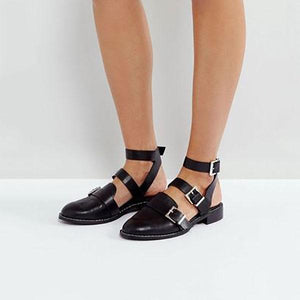 Fashion Daily Adjustable Buckle Sandals