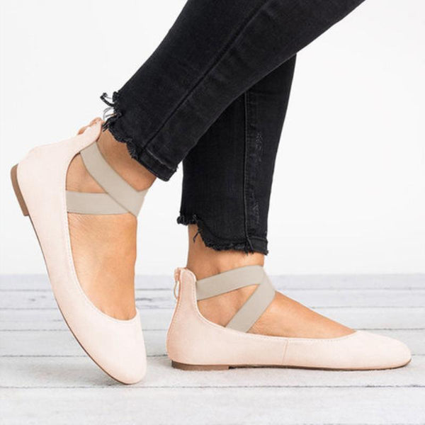 Women Plus Size Flats Ballerina Shoes