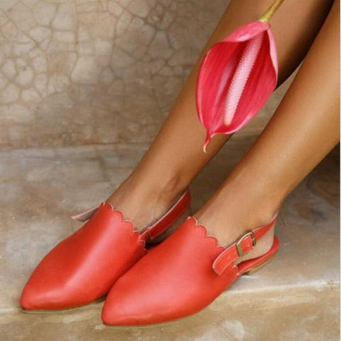 Women Comfortable Flat Heel Casual Sandals