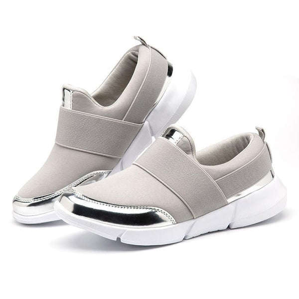 Womens Daily All Season Flat Heel Breathable Sneaker