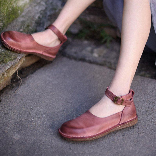 Casual Flat Heel Flats For Lady