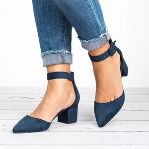 Casual Comfy Adjustable Buckle Shoes