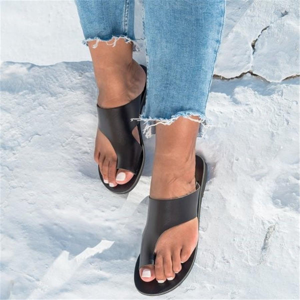Simple And Versatile Comfortable Flat Slippers