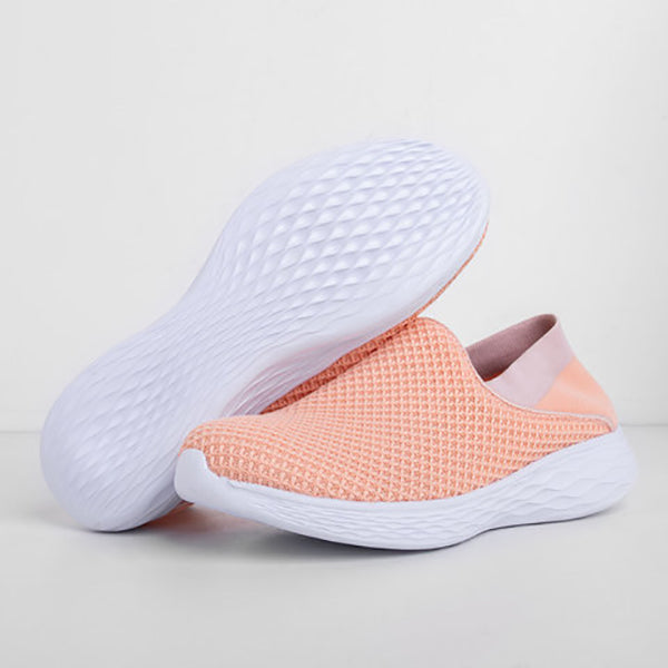 Unisex Mesh Fabric Breathable Sneakers