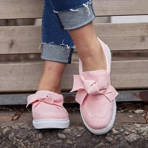 Loafers Casual Bowknot Shoes For Women