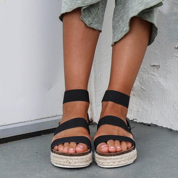 Round Head Thick Bottom Sandals