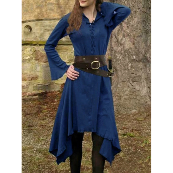 Medieval Vintage Long Sleeve Dresses