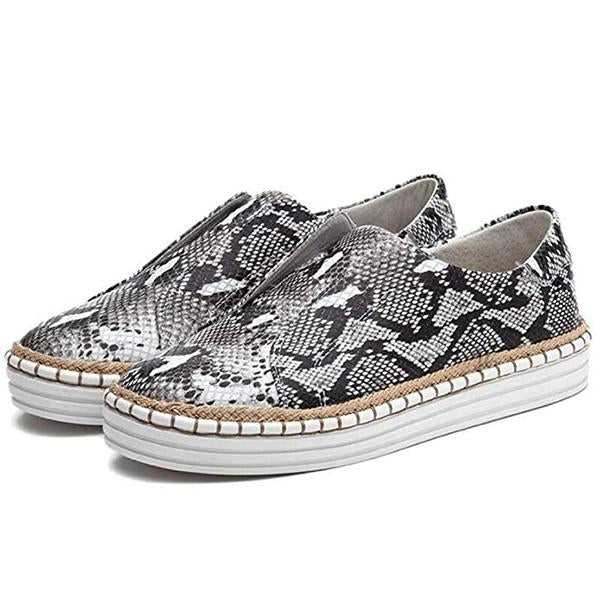 Women Slip-On Round Toe Casual Flats