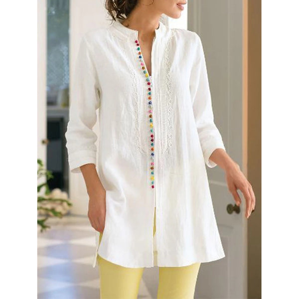 Ladies Fashion Long Sleeve Casual Tops