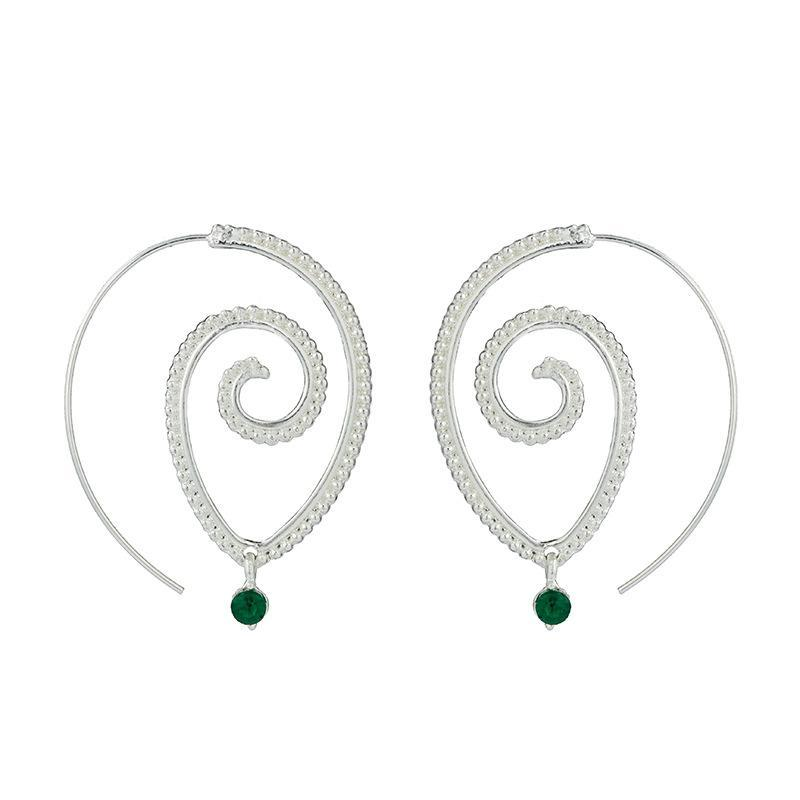 Punk Oval Earrings