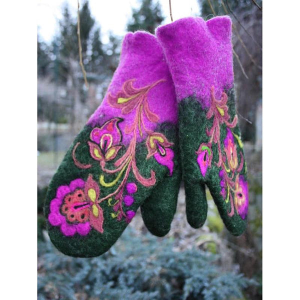 Vintage Soft Warm Gloves