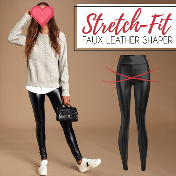 Stretch-Fit High Waist Pants