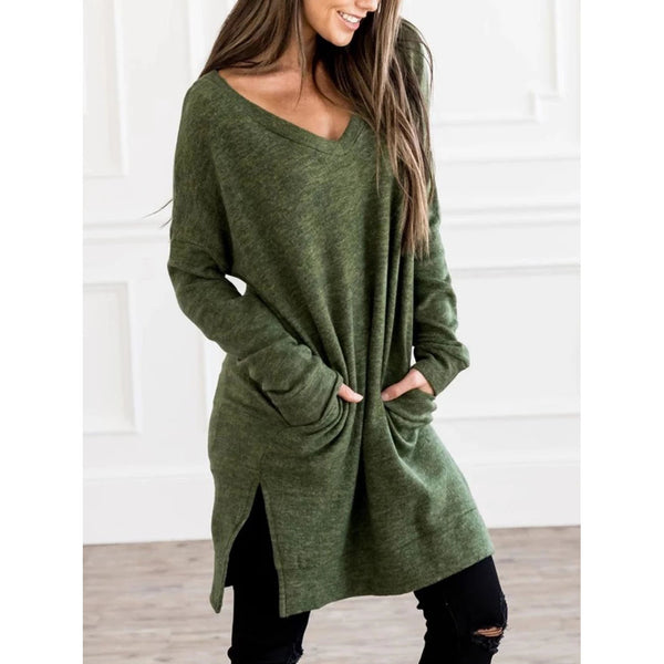Ultra-Soft Casual Loose Pullover Blouses