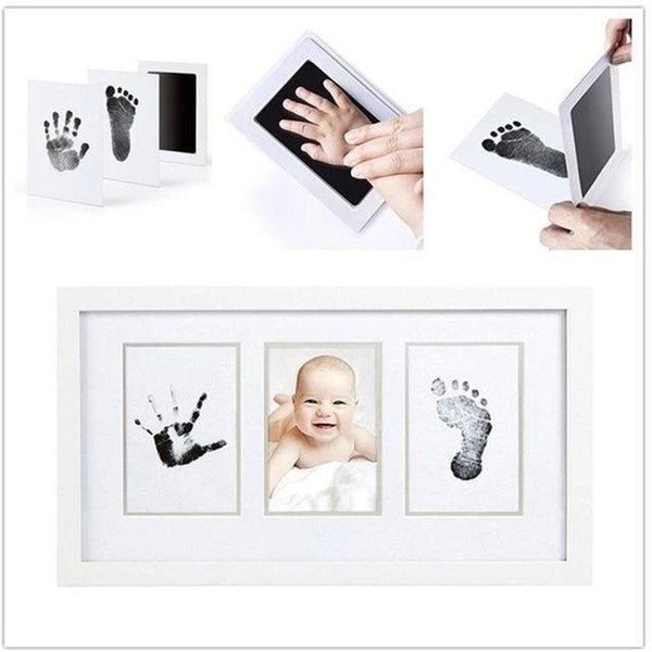 Baby Care Non-Toxic Baby Photo Frame DIY Handprint Footprint Imprint Kit