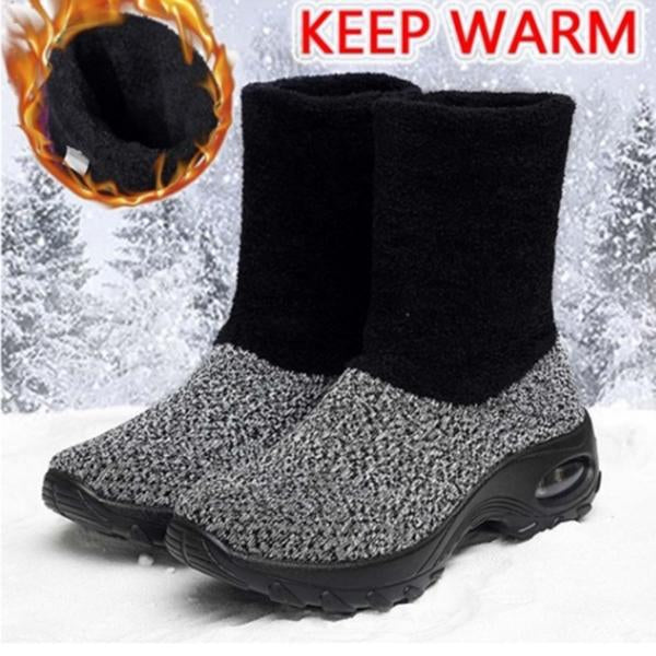 Women Winter Fashion Plus Velvet Warm Snow Boots
