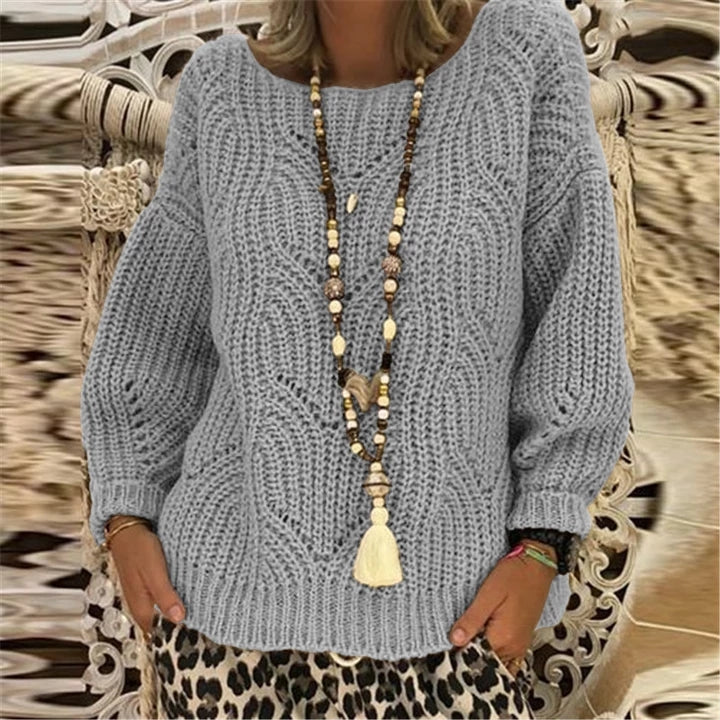Long Sleeve Loose Women Sweater