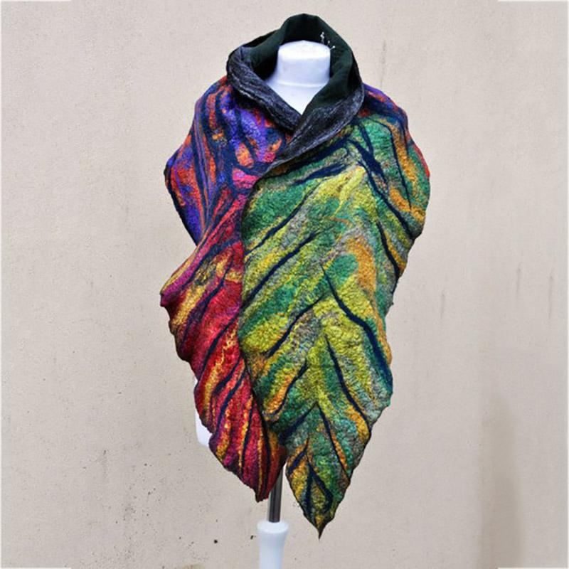Autumn Holiday Vintage Scarf
