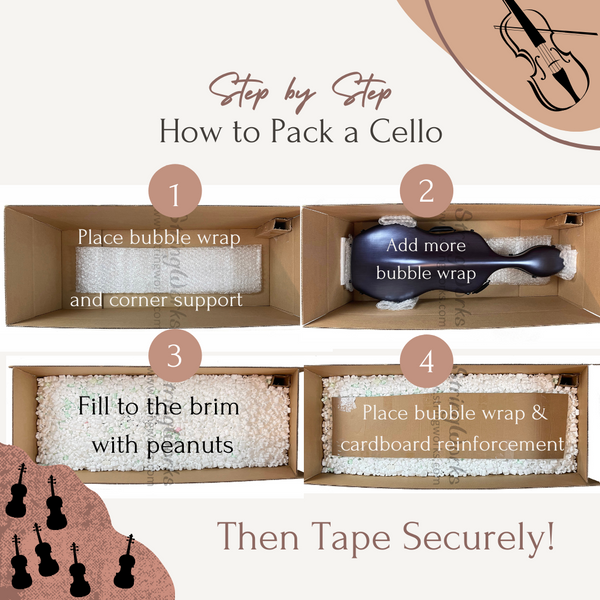 Pack a cello