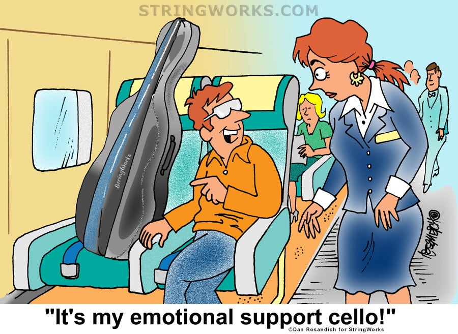 emotional support cello