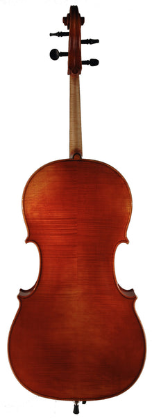 Roman Teller cello back