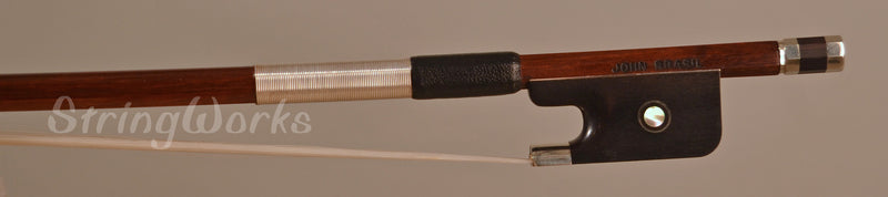 John Brasil Viola Bow - Nickel Mounted