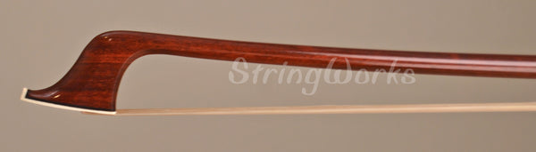 John Brasil Cello Bow - Nickel Mounted