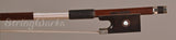 John Brasil Violin Bow - Nickel Mounted