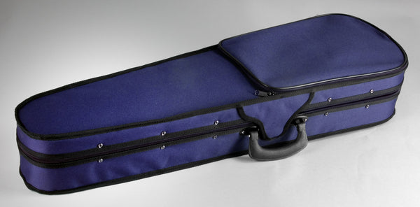 Shaped violin case closed