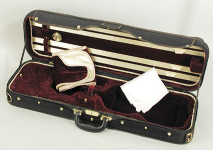 Ultra deluxe viola case open