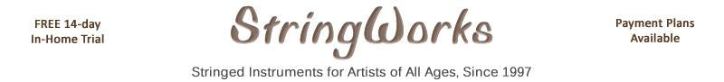 StringWorks - Buy Stringed Musical Instruments - Violas, Violins, Cellos Online Shop