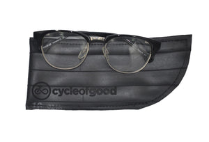 Recycled Bike Inner Tube Glasses Case