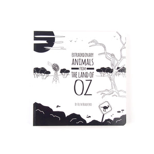 Baby Board Book - Extraordinary Animals from the Land of Oz