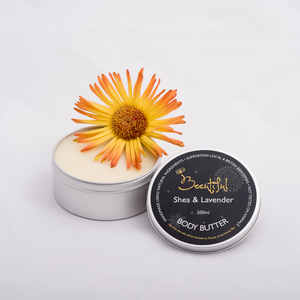 Honey Bee Caring Body Butter - Shea, Lavender & Patchouli