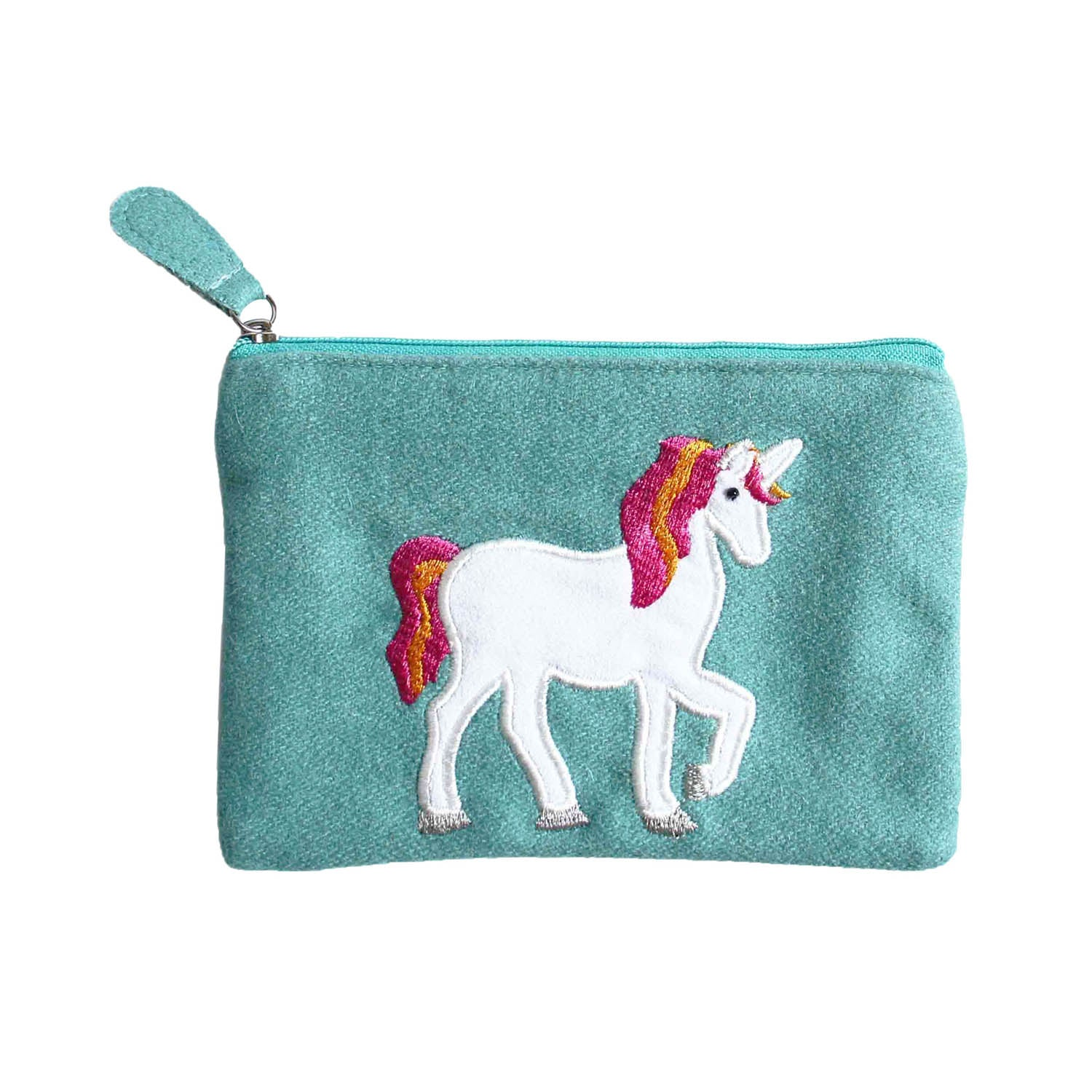 Felt Rainbow Unicorn Purse