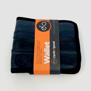 Recycled Bike Inner Tube Wallet