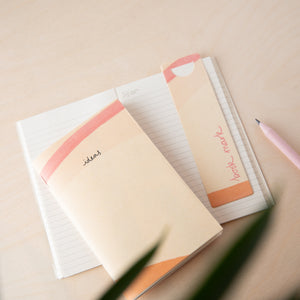 Recycled Coffee Cup Lined Pocket Book – Ideas Cream